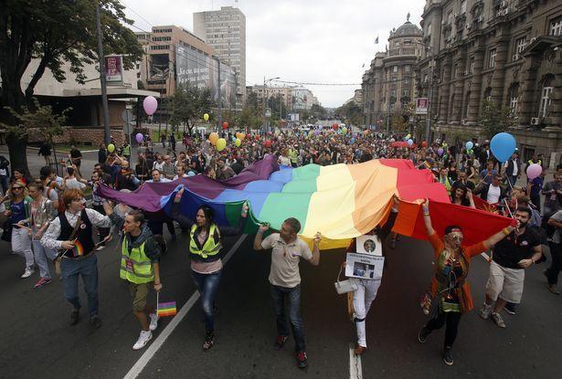 Gay Pride a Belgrado