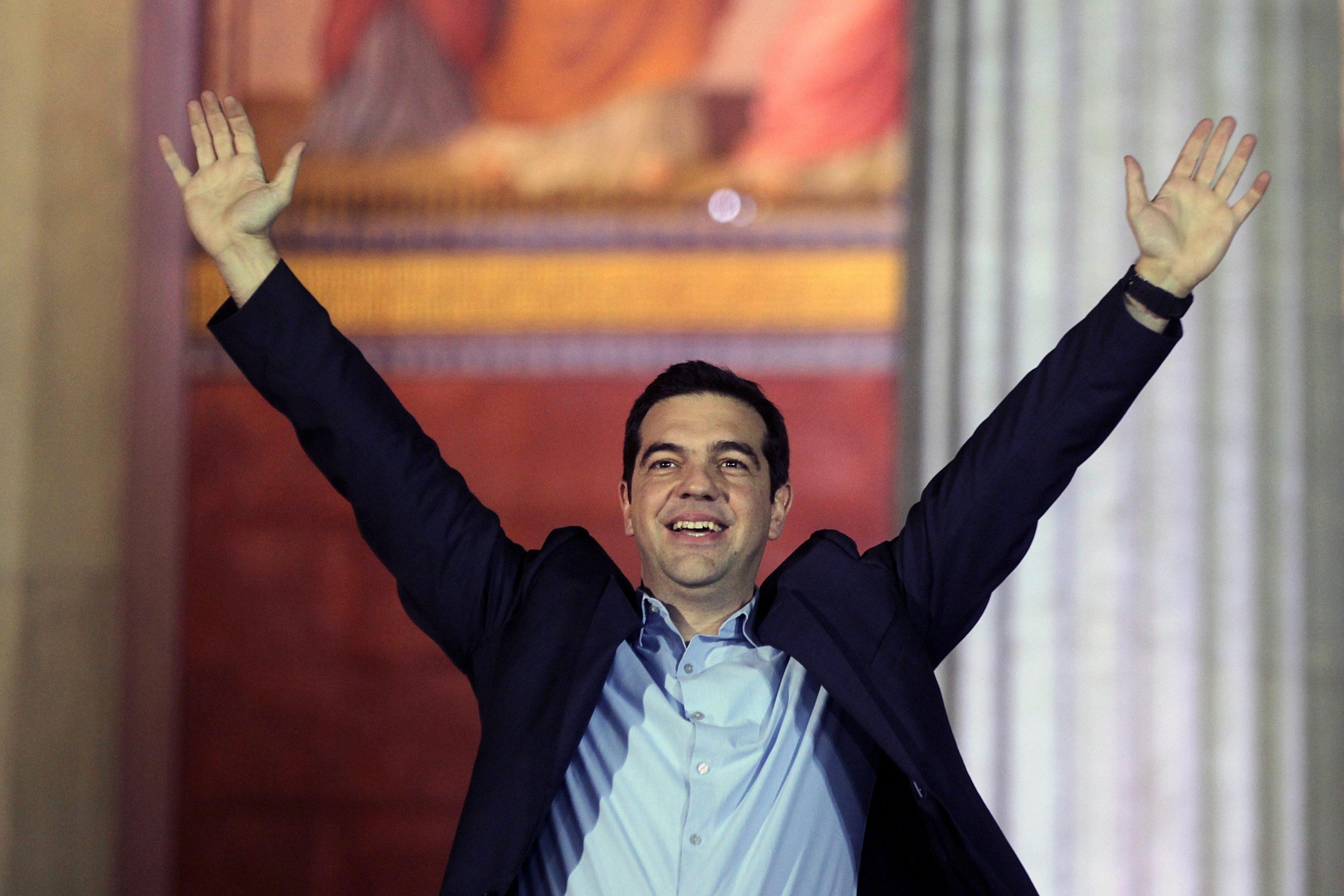 Grecia, Alexis Tsipras Vince