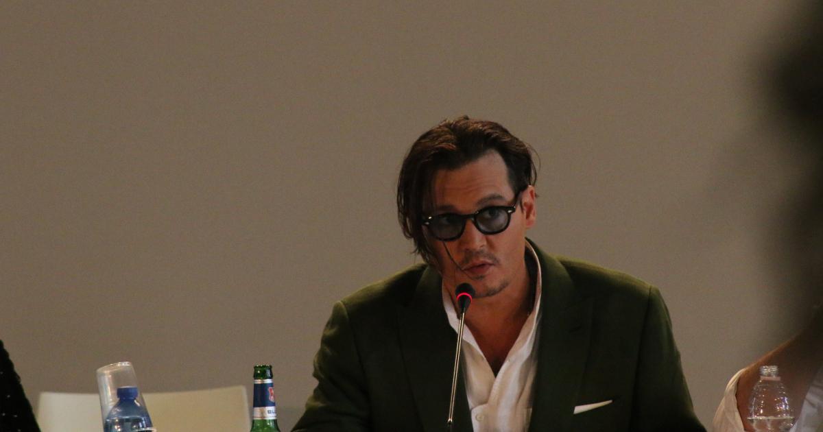 Johnny Depp fuori forma
