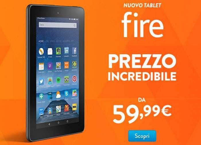 Amazon, Tablet Economico