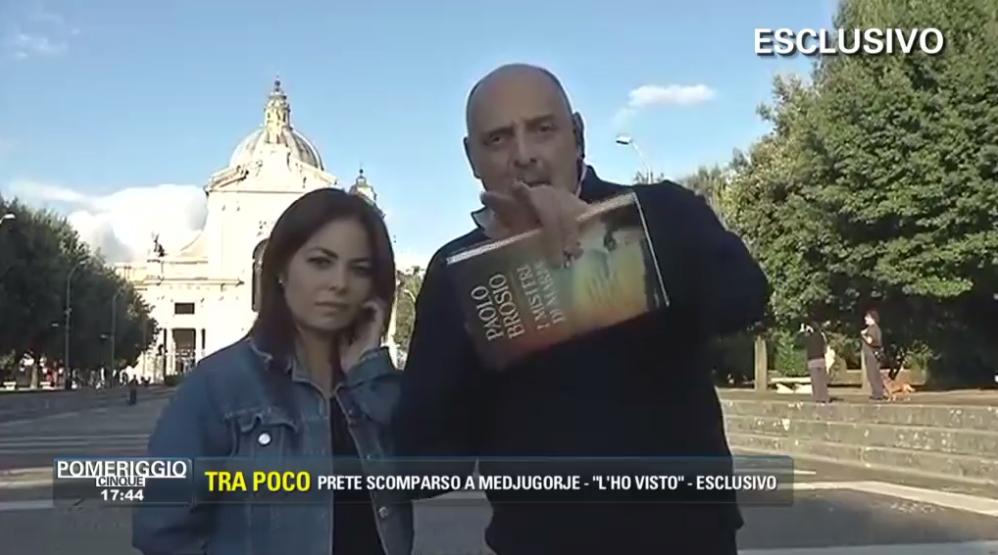 Paolo Brosio Infuriato con Barbara D'Urso durante Collegamento