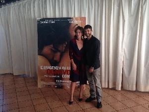 Marco Bocci e Claudia Gerini