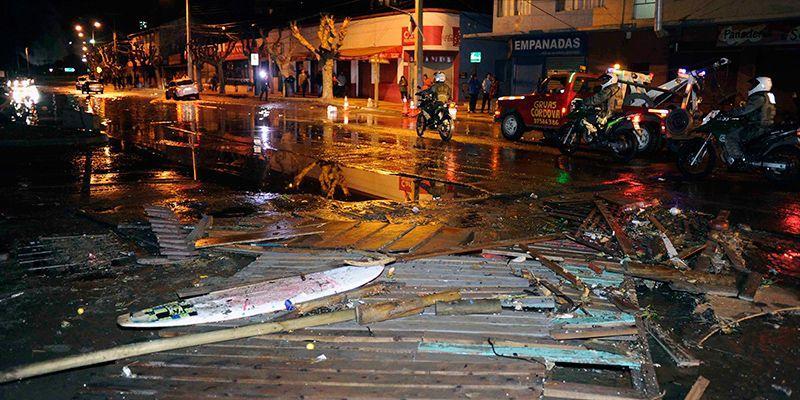 Cile, terremoto violento: morti