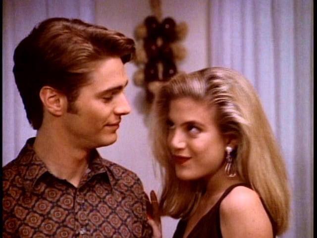Tori Spelling Ha Avuto Flirt con Jason Priestley