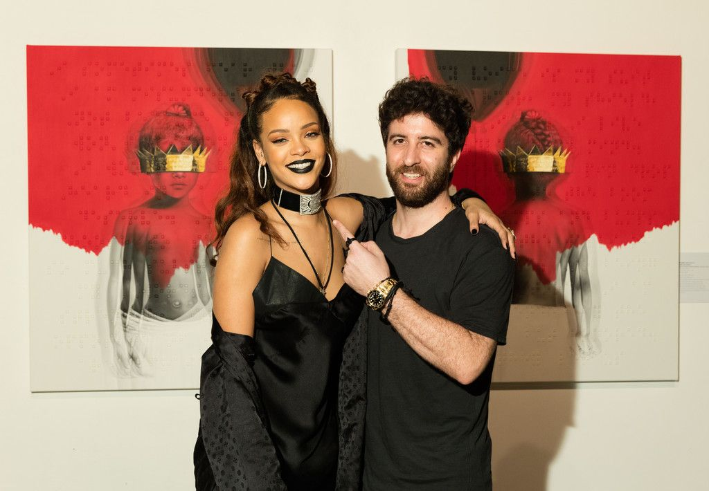 "Rihanna, Roy Nachum Cura Artwork ""ANTI"""