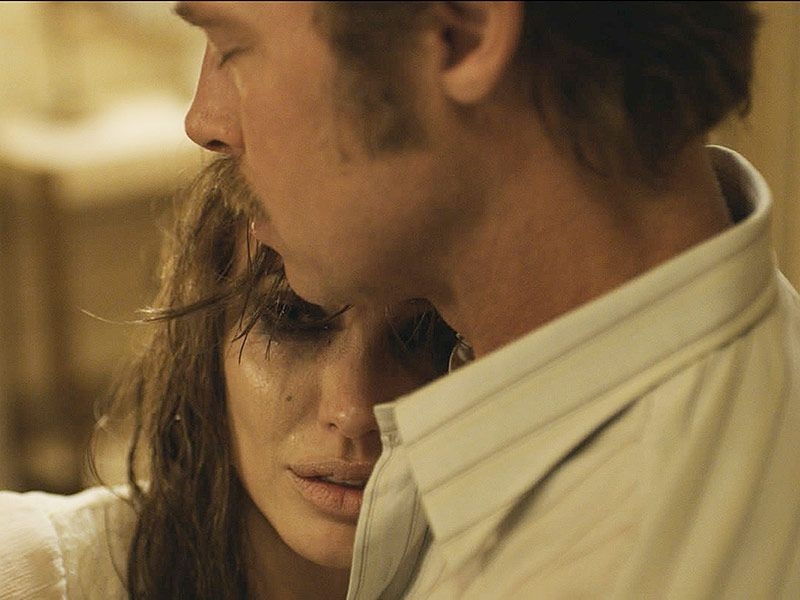 "Angelina Jolie e Brad Pitt in ""By The Sea"""