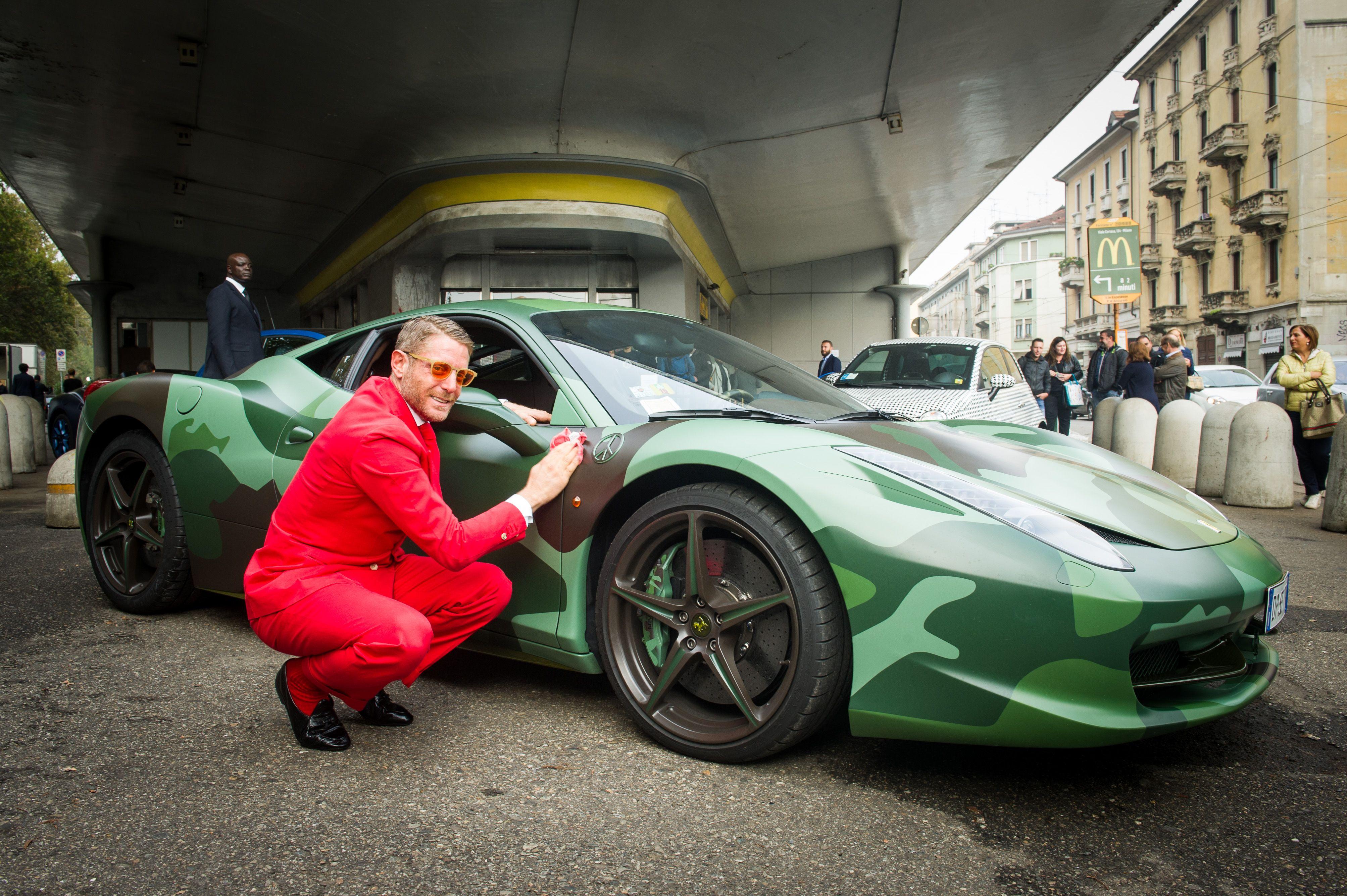 Lapo Elkann Inaugura Garage Italia Customs