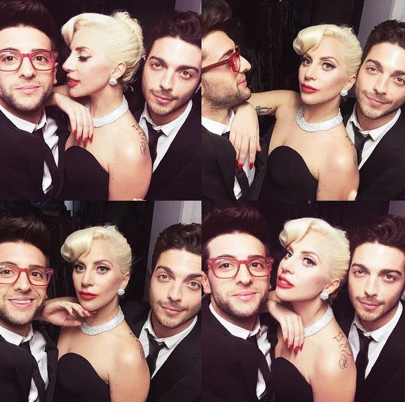 Il Volo: Selfie con Lady Gaga