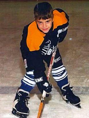 Justin Bieber Gioca a Hockey sul Ghiaccio