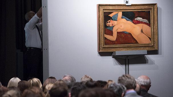 New York, Dipinto Modigliani Venduto per oltre 170 Milioni di Dollari