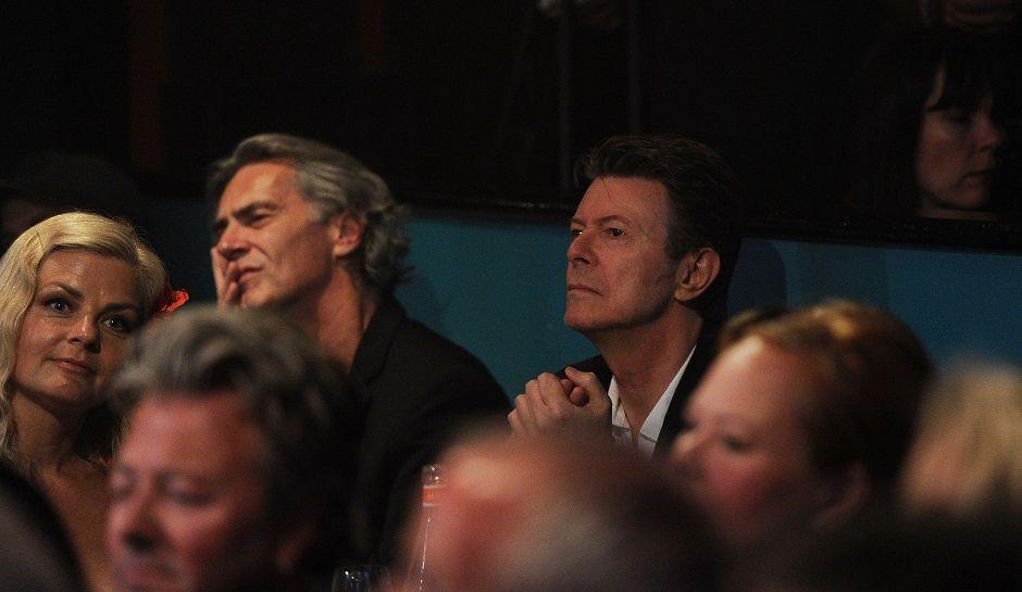"David Bowie, On Air Videoclip ""Blackstar"""