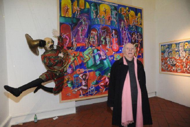 Dario Fo Racconta Chagall a Brescia