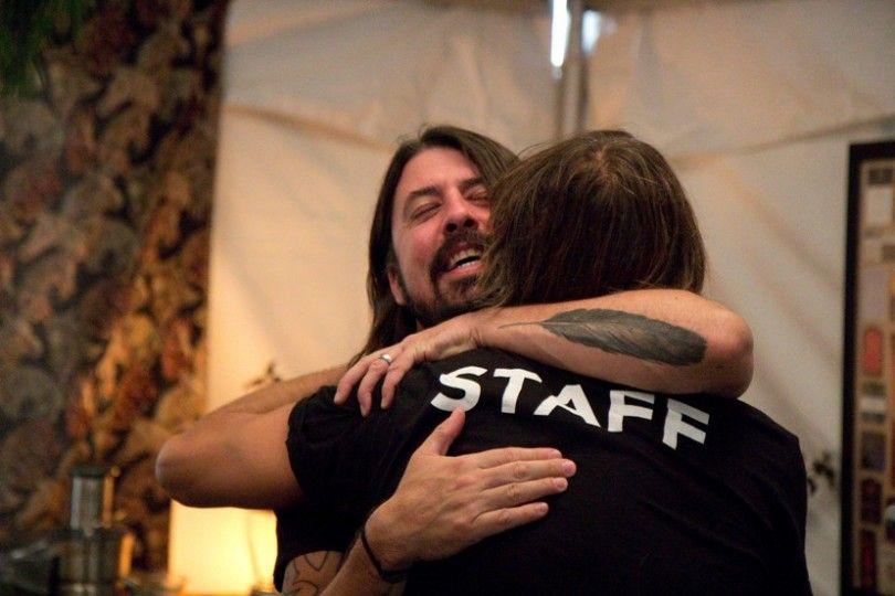Foo Fighters a Cesena, Dave Grohl Ringrazia Fabio Zaffagnini