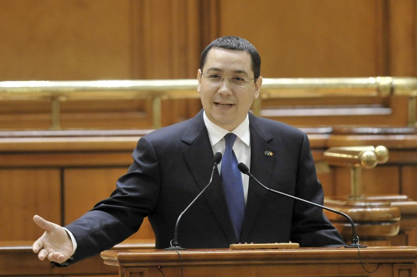 Romania, Dimissioni Premier Ponta