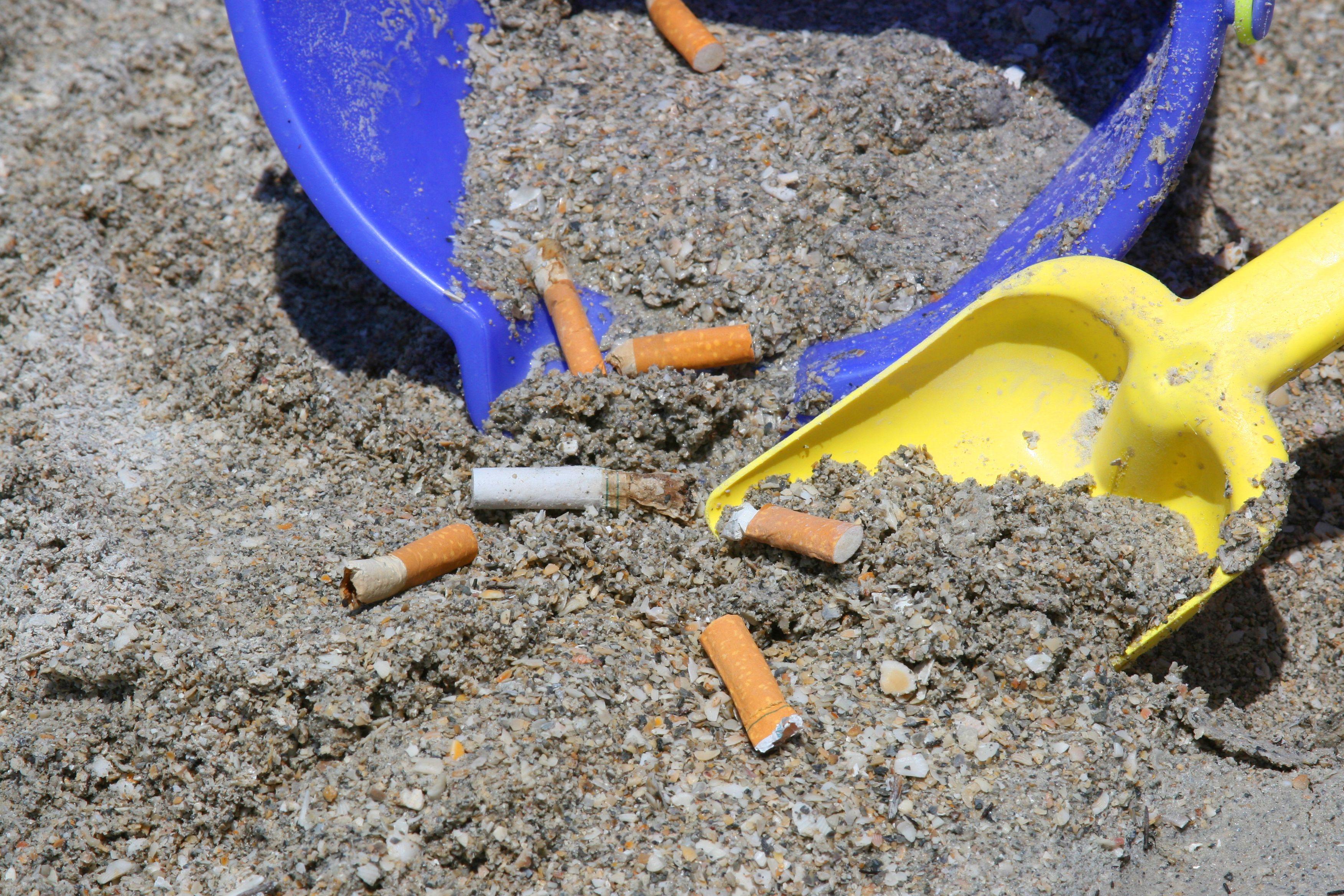 Milano, Campagna contro Mozziconi Sigarette