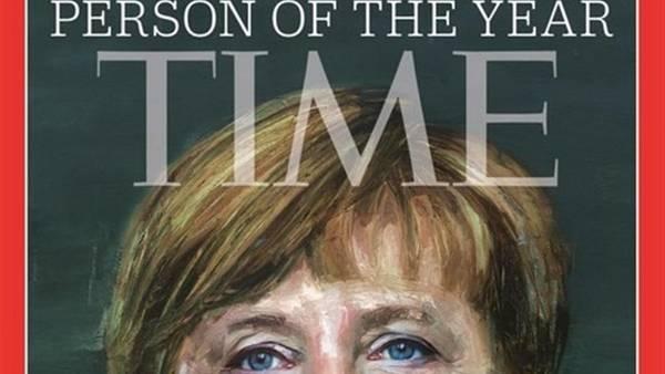 Angela Merkel personaggio dell'anno per Time