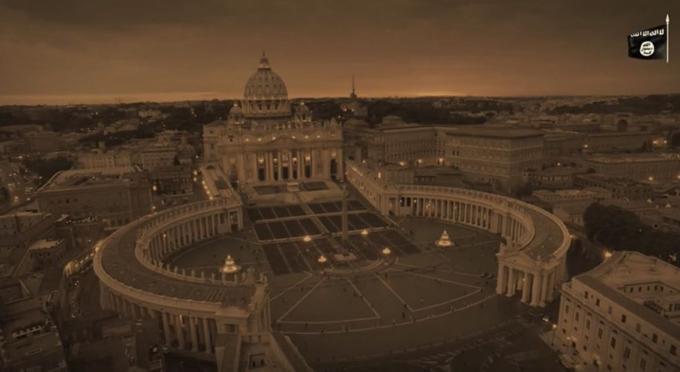 Isis: nuovo video conquista Roma