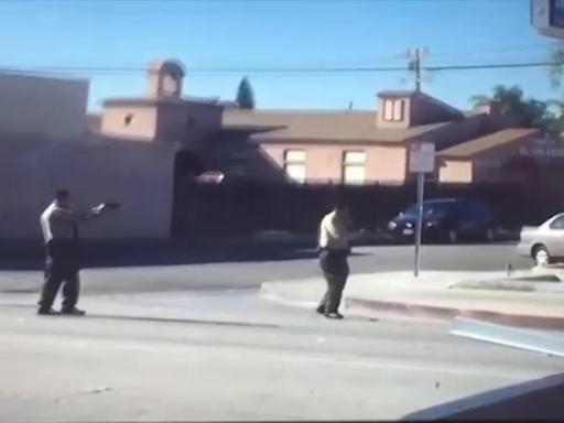 Usa, poliziotti uccidono afroamericano a Los Angeles