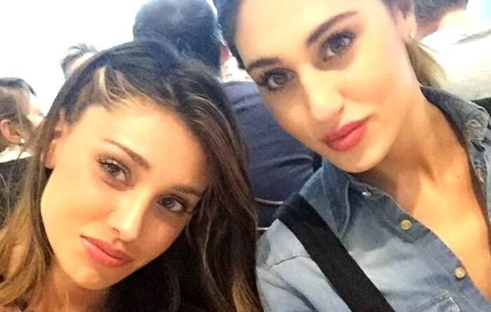 Belen Rodriguez e sorella Cecilia non hanno litigato