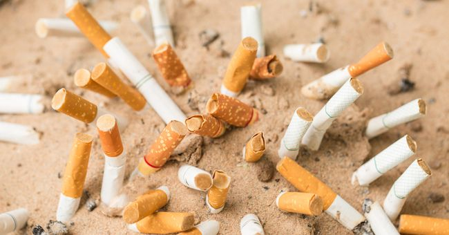 Cicche di sigaretta per terra? Multa in vista
