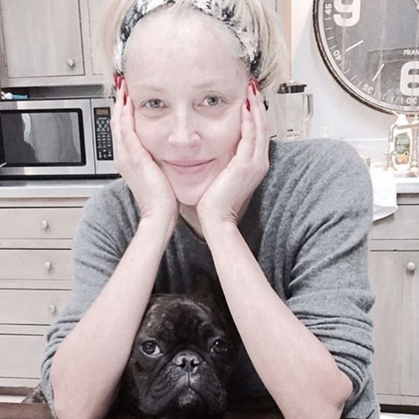 Sharon Stone, foto senza trucco su Instagram