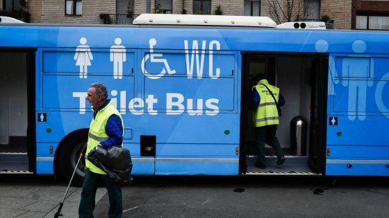 Toilet Bus a Milano: Idea Cinese