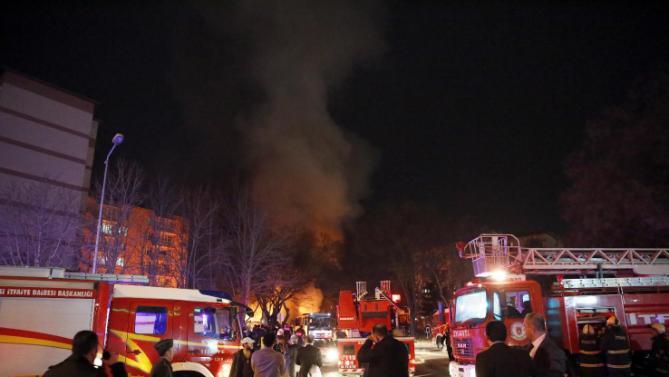 Autobomba Scoppia ad Ankara