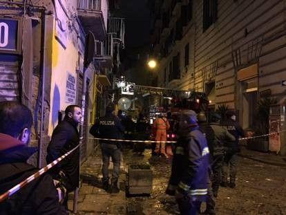 Napoli Fuga di Gas Esplosione Via Basile