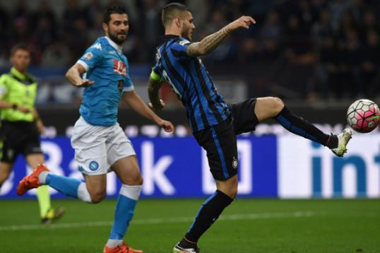 Mancini esulta per vittoria Inter su Napoli