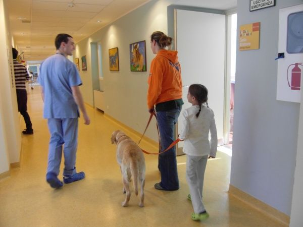 Pet therapy ospedali