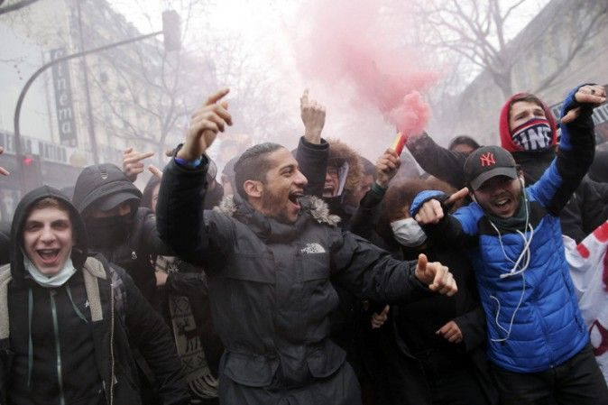 1 maggio di proteste in Francia