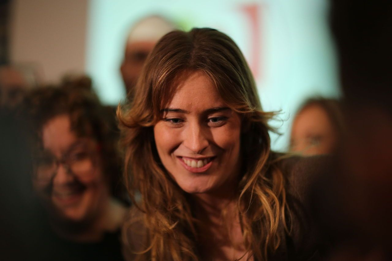 Maria Elena Boschi al Festival Economia di Trento