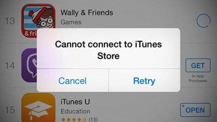 Apple, servizi App Store e iTunes Store down