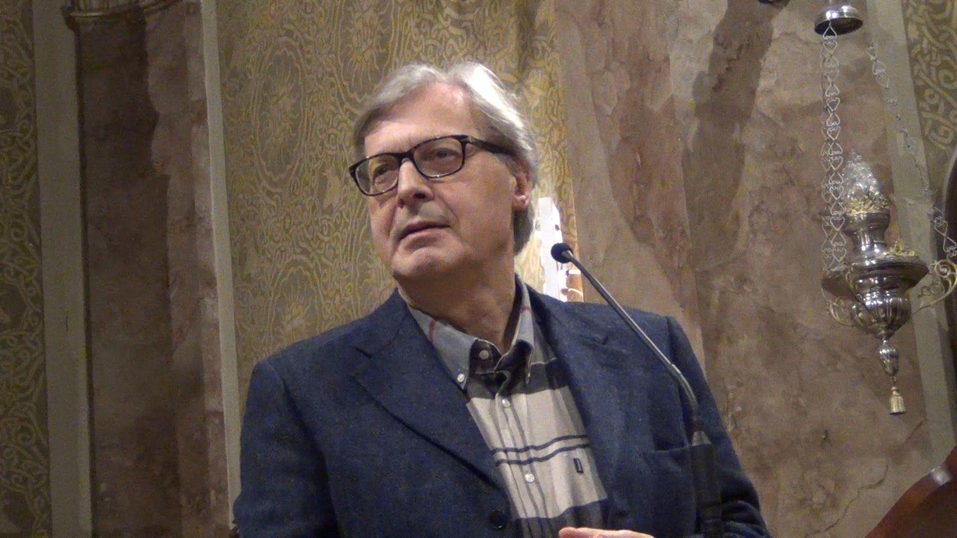 Sgarbi ricoverato per colica renale a Bergamo
