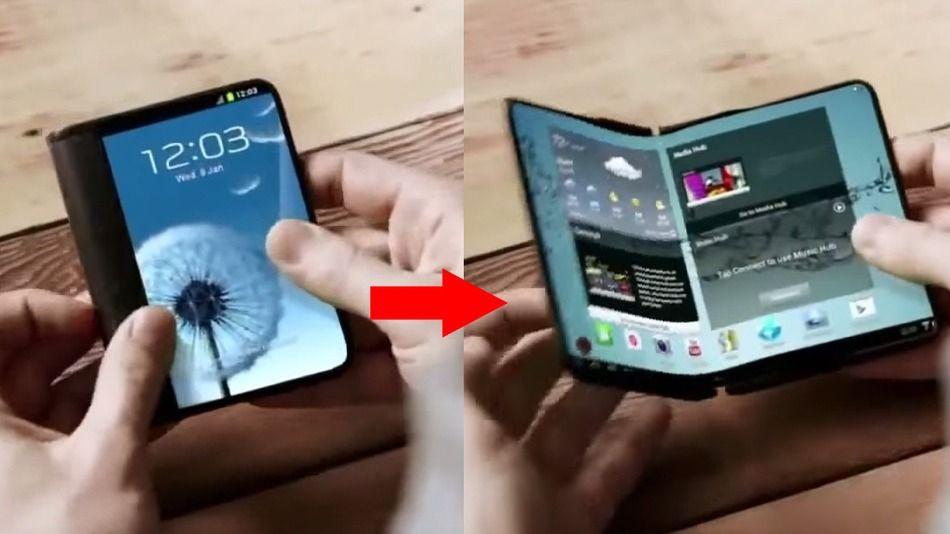 Samsung: telefonini pieghevoli arriveranno il prossimo anno