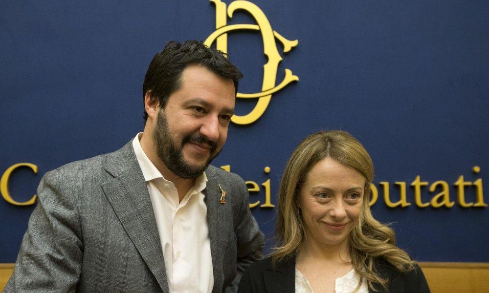 Arezzo, Meloni e Salvini dicono No al referendum