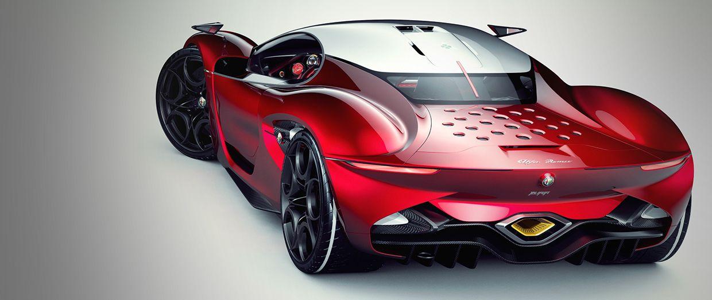 Alfa Romeo Furia: render di un designer polacco