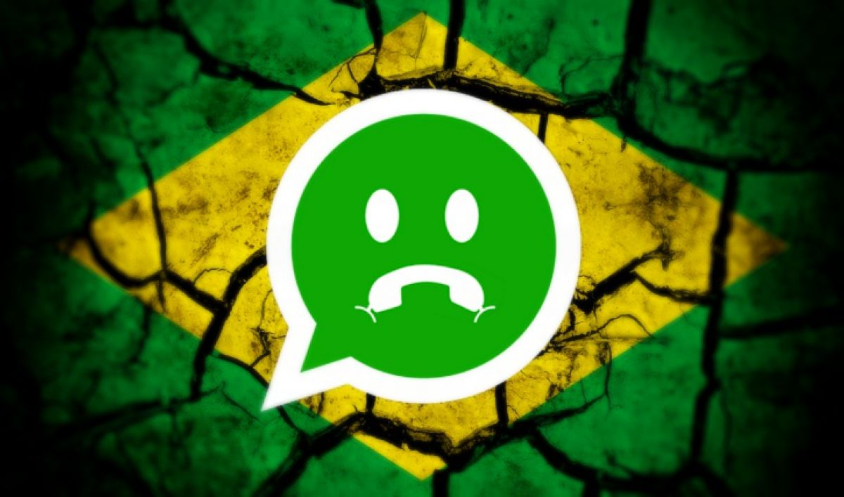 WhatsApp bloccato in Brasile: stop di due ore