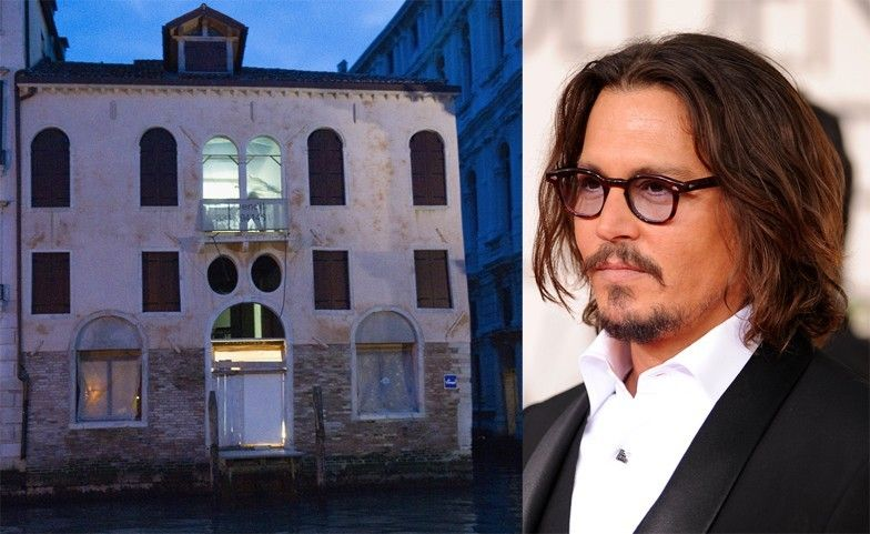 Johnny Depp: in vendita casa a Venezia