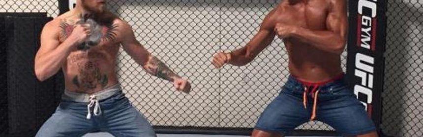 McGregor lotta con Cristiano Ronaldo
