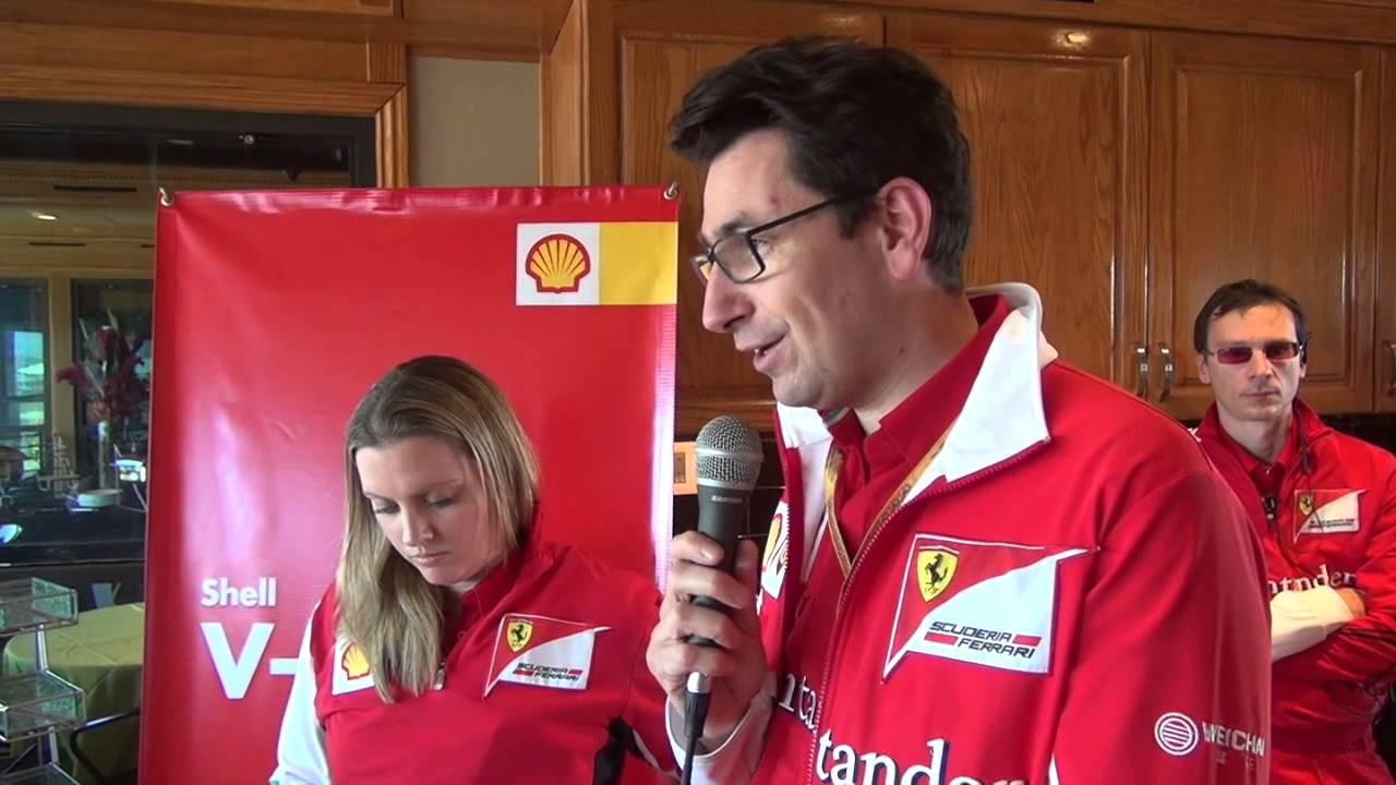 Mattia Binotto nuovo direttore tecnico Ferrari