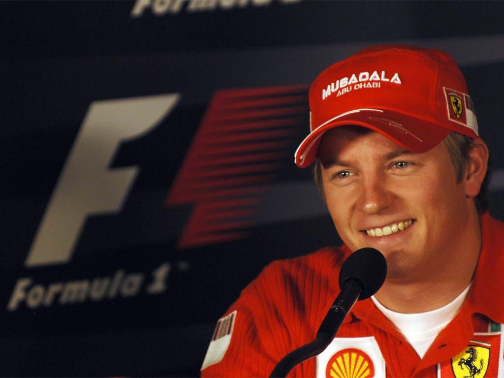 Raikkonen rinnova contratto con la Ferrari