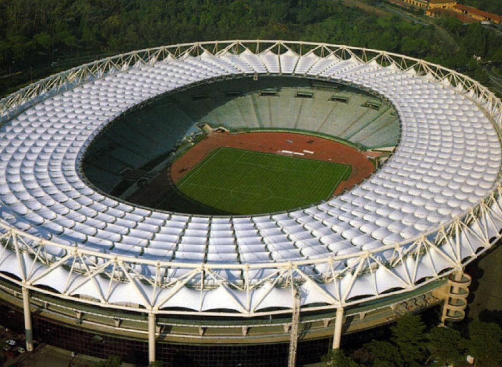 Più sicurezza all'Olimpico di Roma