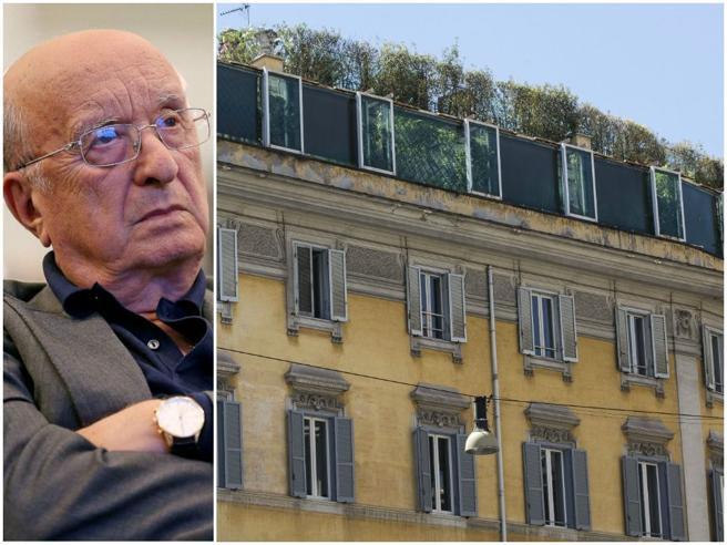 Ciriaco De Mita vende attico a Roma per 11 milioni