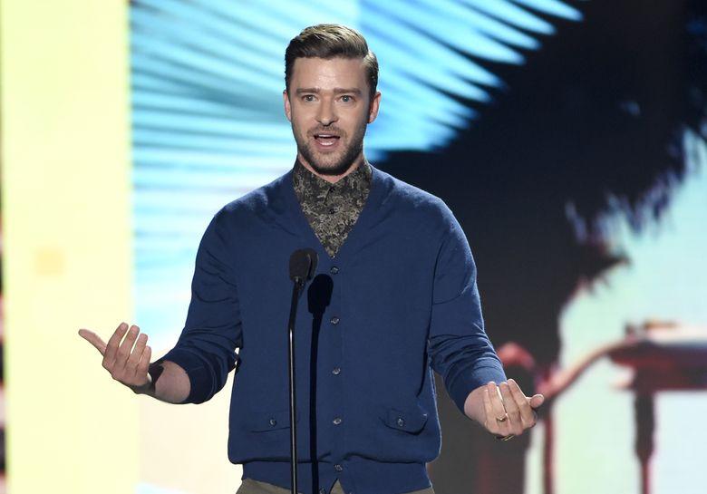 Teen Choice Awards 2016, Timberlake sul palco